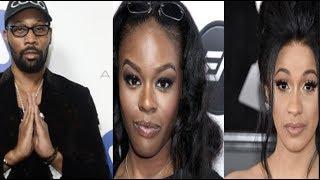 "Azealia Banks Says RZA is a ""cokehead"" & Cardi B is an ""Illiterate rat!""~ Cardi responds!!"
