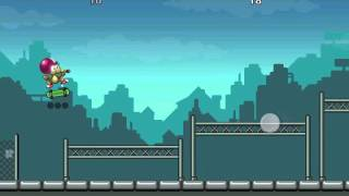 Rat on a Skateboard challenge 1 Jump! 3 stars walkthrough video gameplay tutorial iphone 4