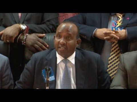 Jubilee dismisses NASA allegations on Dubai Firm awarded IEBC ballot tender