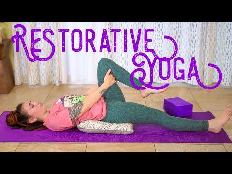 Restorative Yoga - Pain Management Yoga Fundamentals 20 Minute Class
