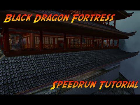 Black Dragon Fortress speedrun tutorial Indiana Jones and the Emperor's Tomb |