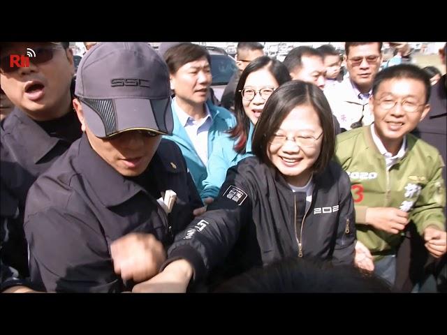 Wahlkampfkundgebungen in ganz Taiwan