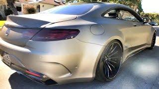 Нереальный S-Class Coupe на диком расширении!) Ghost Motorsports. Mercedes-Benz. Тест-обзор. AMG : )