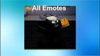 Roblox - Horrific Housing - All emotes