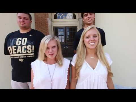 Messing with Freshman 2017 - Wake Forest University