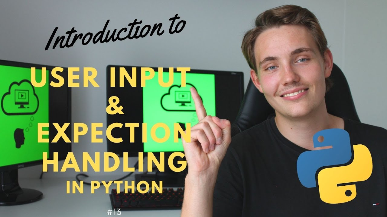 User Input and Exception Handling in Python