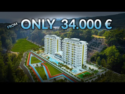 Apartments For Sale In ALANYA Turkey From 34.000€! (New 5 Star Hotel Concept Project! )