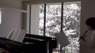 松任谷由実の「春よ、来い」を、リコーダーとピアノ用にアレンジしまし...