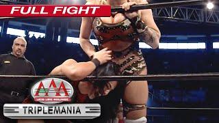 TAYA y LAREDO vs TESSA y DAGA   LUCHA COMPLETA   Lucha Libre AAA Worldwide