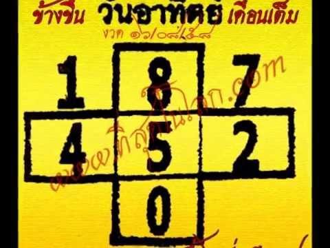 หวยเด็ดงวด 16/08/58 เลขเด็ดงวด 16 สิงหาคม 58 งวดนี้ออก 11 โมงครึ่งน่ะ