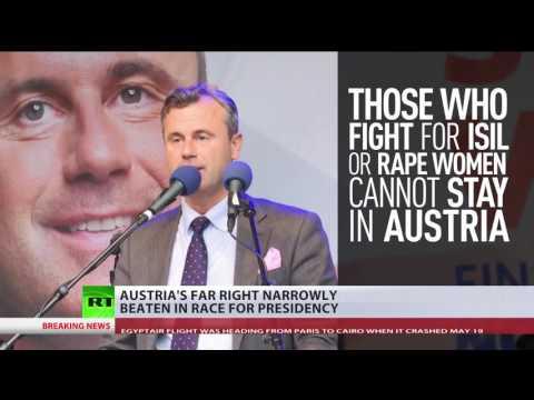 Austria's far right narrowly beaten in race for presidency