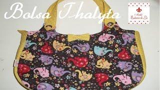 PAP – Bolsa Thalyta (com molde) – Ateliê Essência de Lis