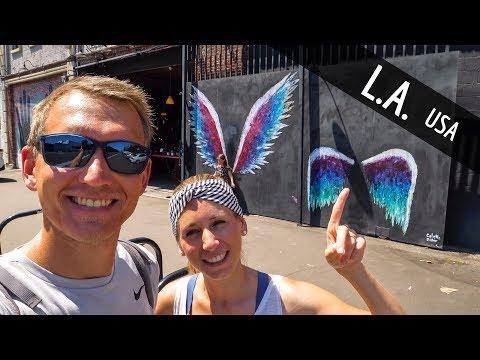 Los Angeles Venice Beach, Schattenseiten & Art District | VLOG #467