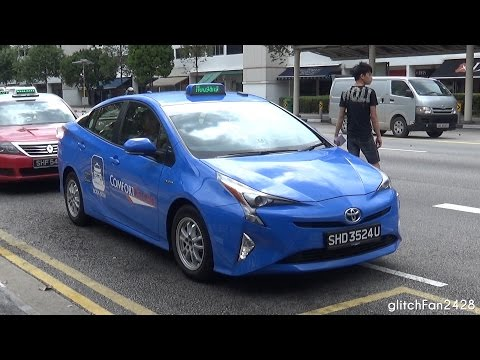 [ComfortDelGro] Brand New 2016 Toyota Prius Taxi Spotted in Singapore