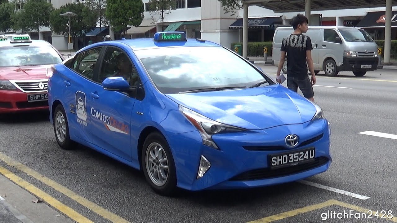 new car 2016 singaporeComfortDelGro Brand New 2016 Toyota Prius Taxi Spotted in