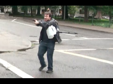 Thumbnail: Man pulls gun on crowd of Portland protesters