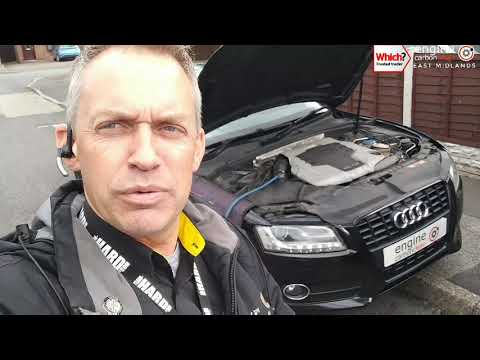Engine Carbon Clean on an Audi A5 3.0 TDI