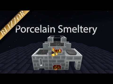 Tinkers' Complement - Porcelain Smeltery [Tutorial] [Deutsch] [GER]