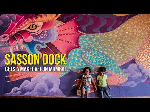 Sasson Dock's makeover in Mumbai is a collaboration of artists you must watch