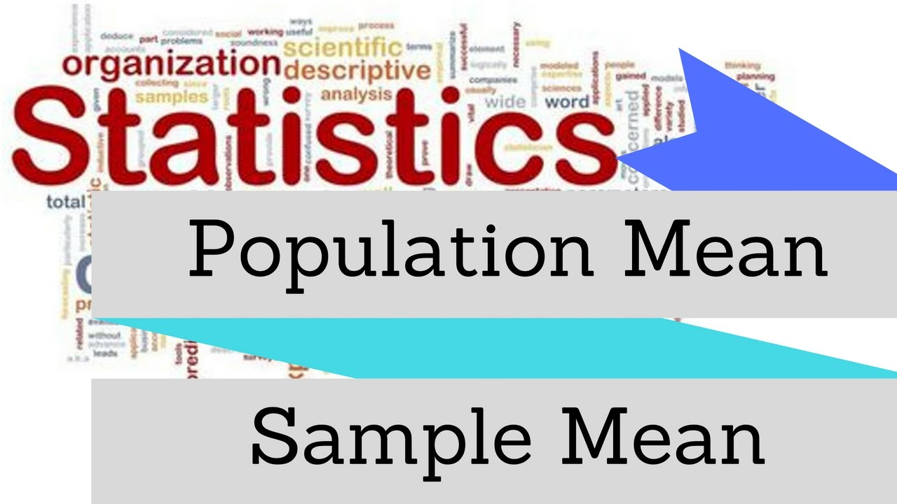 Hindi]What is Population and Sample Mean (Sample vs Population ...