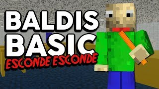 Minecraft: ESCONDE-ESCONDE DO BALDIS BASIC NO MINECRAFT!!!