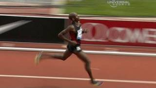 Bernard Lagat wins 2 mile in Prefountaine - from Universal Sports