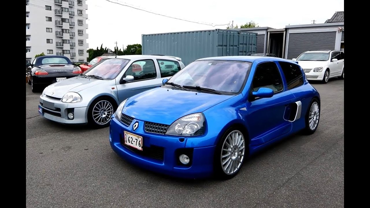 renault clio v6 sport phase 1 phase 2 the differences youtube