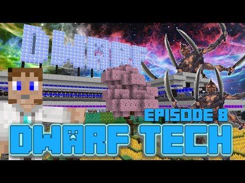 Minecraft: Dwarf Tech #8- RETURN OF THE ATLANTEANS!
