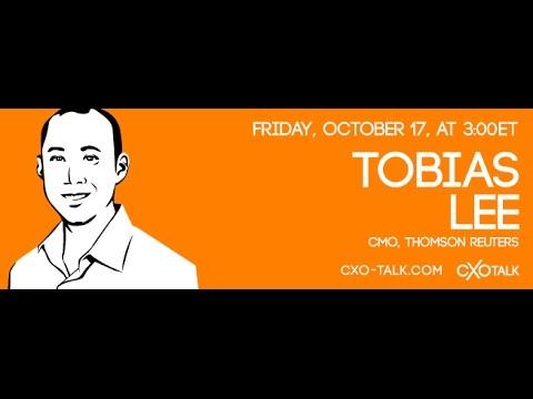 #83: CXOTalk featuring Tobias Lee