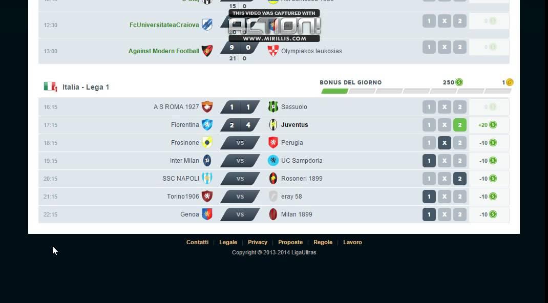 Liga ultras betting best sports betting arbitrage software