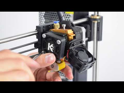 Ajustes de barrel MK8 Impresora 3D Prusa Kuttercraft (Video)