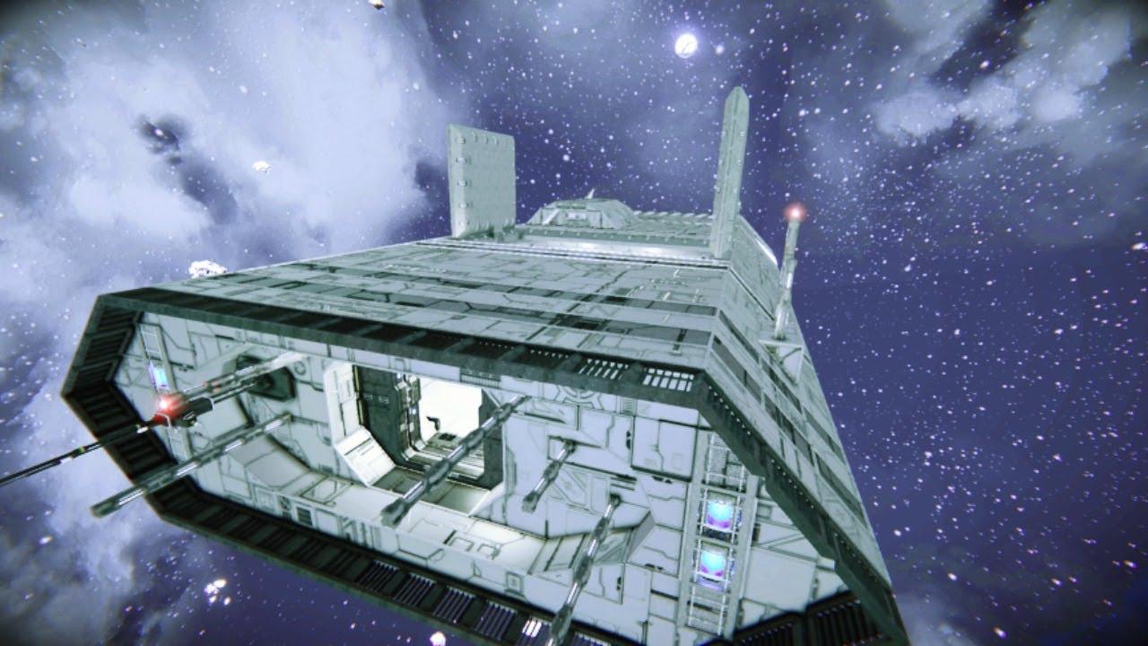 SPACE | Межпланетка и Посадка на Земпю
