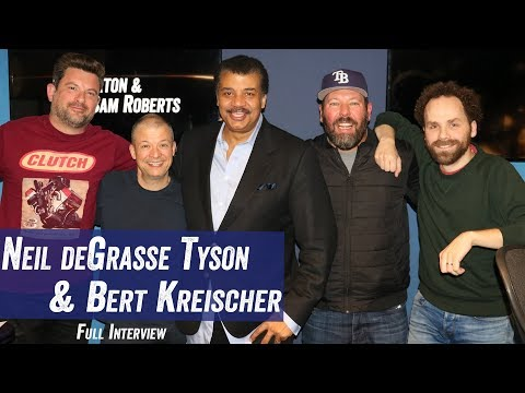 Neil deGrasse Tyson & Bert Kreischer - Space, Aliens, 'Black Mirror' - Jim Norton & Sam Roberts