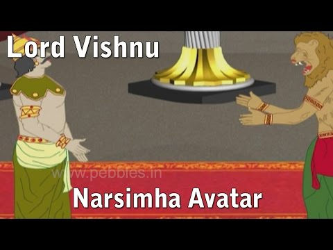 Lord Vishnu Narasimha Avatar   Lord Vishnu Stories in Hindi   Vishnu Avatars Stories
