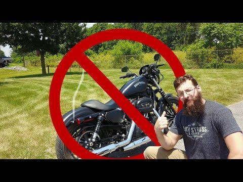 Why you should NOT buy a HD Sportster