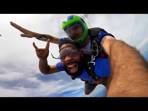 Freddy Mac went Skydiving!