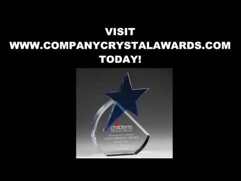 Custom Crystal Trophies Plaques And Awards
