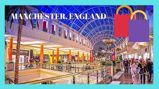 The beautiful Trafford Centre shopping mall, Manchester, England