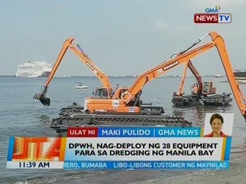 DPWH, sisimulan na ang dredging sa Manila Bay