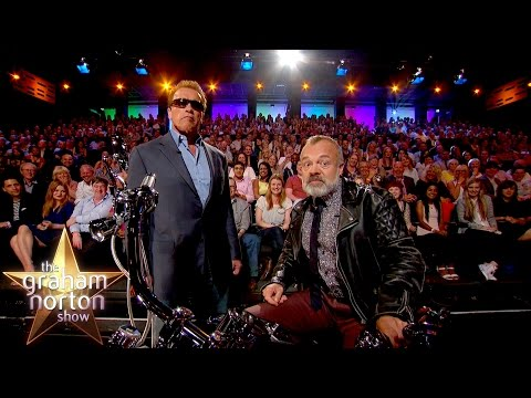 Arnold Schwarzanegger Takes Over The Show - The Graham Norton Show