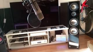 canton Vento 896 DC  Schiit Gungnir Multibit  Cambridge Azur 851A soundtest