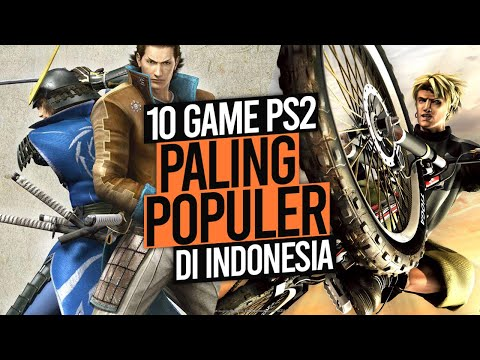 10 GAME PS2 Paling Populer Di Indonesia | Edisi Spesial PS2 20th Anniversary