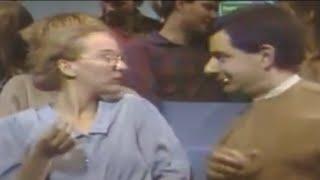 Mr Bean - Teasing his girlfriend