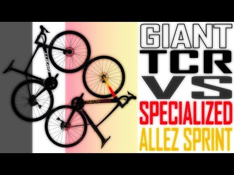 SPECIALIZED ALLEZ SPRINT VS GIANT TCR 2020