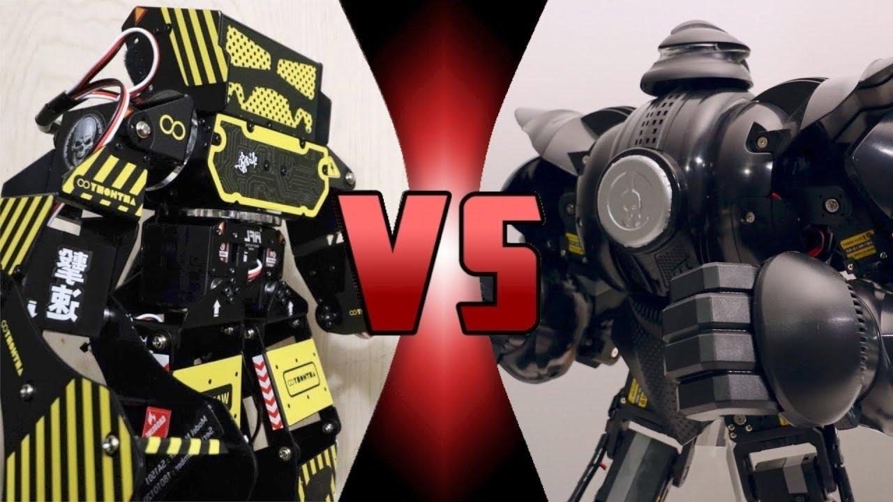 ROBOT DEATH BATTLE! - Super Anthony VS ZEUS (ULTIMATE ROBOT DEATH BATTLE!)