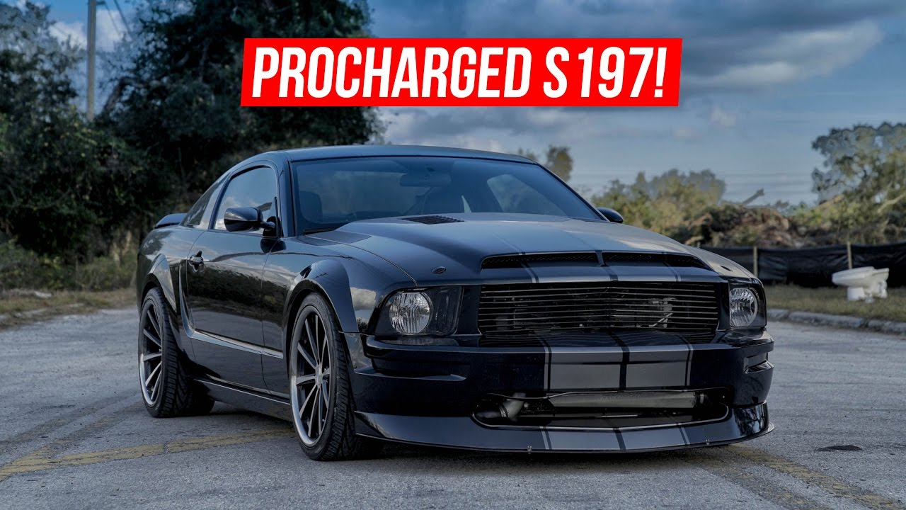 BEASTLY PROCHARGED MUSTANG! 10 Year Owner Review - 2006 Mustang GT  Supercharged