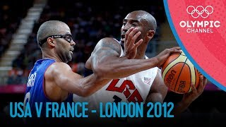 Basketball - Men -  USA-FRA - London 2012 Olympic Games