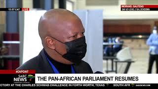 Pan-African Parliament I Mali MP threatened to kill me, so I reacted that I will kill him: Malema