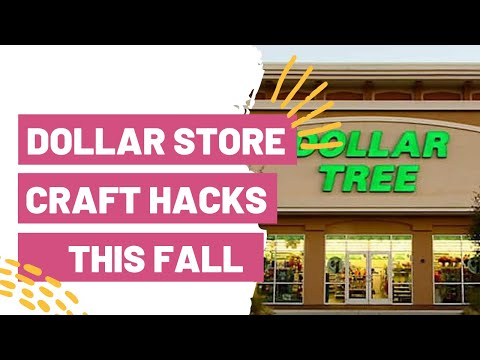 Dollar Store Craft Hacks You NEED This Fall