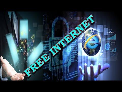 Free internet using without balance